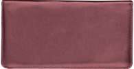 Click on Burgundy Leather Checkbook Cover, no monogram For More Details
