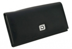 Click on Ladies RFID Leather Clutch - Black For More Details