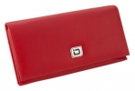 Click on Ladies RFID Leather Clutch - Red For More Details