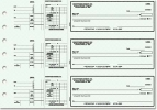 Click on Blue Safety Payroll General Purpose 3-on-a-Page Checks - 1 Box For More Details