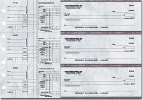 Click on Executive Gray Payroll General Purpose 3-on-a-Page Checks - 1 Box For More Details