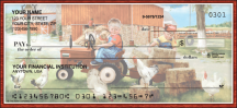 Click on Barnyard Buddies Animal Personal Checks For More Details