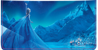 Click on Disney Frozen Checkbook Cover For More Details