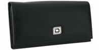 Click on Ladies Leather Clutch Wallet, Black RFID Wallet For More Details