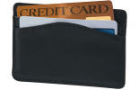 Click on Leather Card Sleeve, Black RFID Wallet For More Details