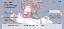 Click on Santa's on the Way  by Lorrie Weber Personal Checks For More Details