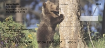 Click on Grizzly Bear Cubs  Personal Checks For More Details