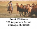 Click on Horse on the Prarie Roundup Address Labels For More Details
