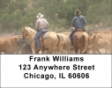 Click on Life of a Cowboy Address Labels For More Details