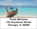 Click on Scenic Tropical Boats Address Labels For More Details