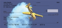 Click on High Flying Stunt Plane  Personal Checks For More Details