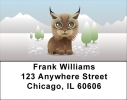 Click on More Baby Animals Address Labels For More Details