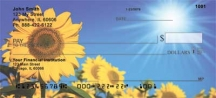 Click on Sunflowers  Personal Checks For More Details