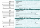 Click on Teal Marble Accounts Payable Business Checks For More Details