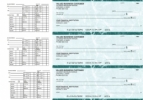 Click on Teal Marble Payroll Business Checks For More Details