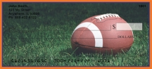 Click on Blue & Orange Football Team  Personal Checks For More Details