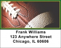 Click on Green & Gold Football Team Address Labels For More Details