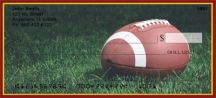 Click on Burgundy & Gold Football Team  Personal Checks For More Details