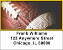 Click on Black & Gold Football Team Address Labels For More Details