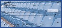 Click on Blue & White Football Team  Personal Checks For More Details