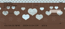Click on Hanging Hearts  Personal Checks For More Details