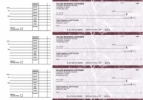 Click on Burgundy Marble Accounts Payable Business Checks For More Details
