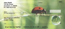 Click on Ladybugs  Personal Checks For More Details
