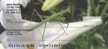 Click on Praying Mantises  Personal Checks For More Details