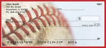 Click on Red & White Baseball Team  Personal Checks For More Details