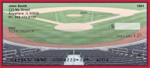 Click on Red & Navy Baseball Team  Personal Checks For More Details