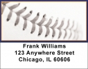 Click on Orange & Blue Baseball Team Address Labels For More Details