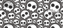 Click on Skull Patterns  Personal Checks For More Details