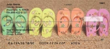 Click on Flip Flops On The Beach  Personal Checks For More Details