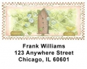 Click on Garden Birdhouses Address Labels by Laurie Weber For More Details