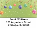 Click on Christmas Ornament Party Address Labels For More Details
