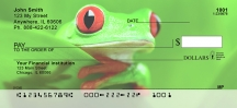 Click on More Tree Frogs  Personal Checks For More Details