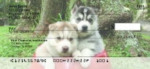 Click on Sled Dogs  Personal Checks For More Details