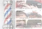 Click on Barber Multi Purpose Designer Business Checks For More Details