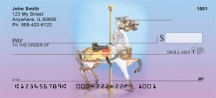 Click on Carousel Animals  Personal Checks For More Details