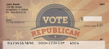 Click on Vote Republican  Personal Checks For More Details