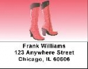 Click on Fashion Boots Address Labels - Fashion Labels For More Details
