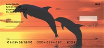 Click on Dolphin Silhouettes  Personal Checks For More Details