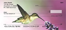 Click on Hummingbirds - More Hummingbird Personal Checks For More Details
