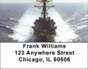 Click on USS Farragut Address Labels For More Details