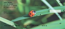 Click on Ladybug - Ladybugs on Leaves Personal Checks For More Details