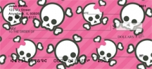 Click on Skulls and More Skulls  Personal Checks For More Details