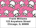 Click on Skull Labels - Skulls and More Skulls Address Labels For More Details