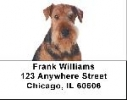 Click on Airedale Labels - Airedale Address Labels For More Details