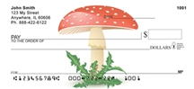 Click on Mushrooms - Mushroom Style Personal Checks For More Details