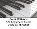 Click on Piano Labels - Black and White Piano Address Labels For More Details